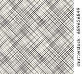 vector seamless pattern. linear ...   Shutterstock .eps vector #689626849