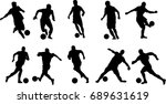 very high quality detailed set... | Shutterstock .eps vector #689631619