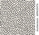 vector seamless pattern. modern ... | Shutterstock .eps vector #689633476