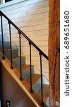 shiplap stairway | Shutterstock . vector #689651680