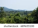 the jungle on koh samui ... | Shutterstock . vector #689655100