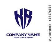 kr logo | Shutterstock .eps vector #689676589