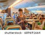 singapore   november 03  2015 ... | Shutterstock . vector #689691664