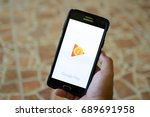 kuantan pahang malaysia  ... | Shutterstock . vector #689691958