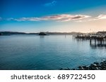 sunrise in new zealand paihia... | Shutterstock . vector #689722450