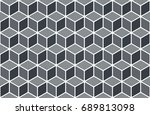 seamless pattern with... | Shutterstock .eps vector #689813098
