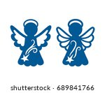 laser cutting template....   Shutterstock .eps vector #689841766