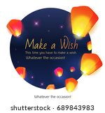 Make A Wish Lanterns Floating...