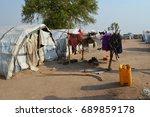 juba  south sudan  february... | Shutterstock . vector #689859178
