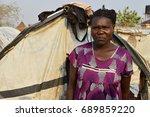 juba  south sudan  february... | Shutterstock . vector #689859220