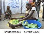 juba  south sudan  february... | Shutterstock . vector #689859328