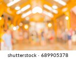 outdoor walking market place | Shutterstock . vector #689905378
