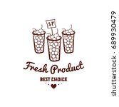 fresh product. best choice.... | Shutterstock .eps vector #689930479