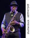 jazz en la costa  spain   july... | Shutterstock . vector #689947249