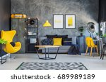 Yellow Decor And Accents In...