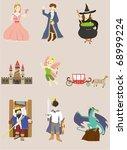 cartoon story icon | Shutterstock .eps vector #68999224