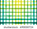 vector summer pattern with... | Shutterstock .eps vector #690030724