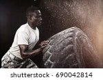 black background against... | Shutterstock . vector #690042814