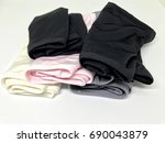 Pile Of Woman Underwear