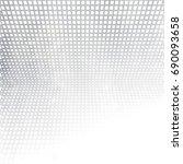 vector geometric gray white... | Shutterstock .eps vector #690093658