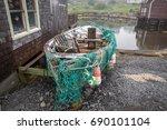small fishing boat | Shutterstock . vector #690101104