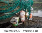 fishing net | Shutterstock . vector #690101110