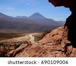 desert road  atacama  chile ...   Shutterstock . vector #690109006