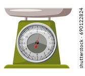 domestic weigh scales icon
