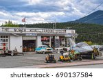 clinton  bc  canada   may 23 ... | Shutterstock . vector #690137584