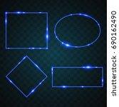 light geometric design | Shutterstock .eps vector #690162490