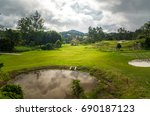 the cameron highlands are a... | Shutterstock . vector #690187123