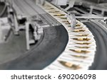 machine lind for a press in a... | Shutterstock . vector #690206098
