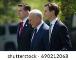 white house aides rob porter  l ...   Shutterstock . vector #690212068