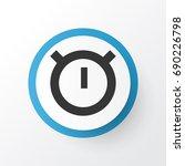 stopwatch icon symbol. premium...