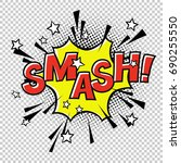 smash  comic sound. comic...