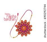 raksha bandhan | Shutterstock .eps vector #690292744