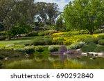 japanese gardens | Shutterstock . vector #690292840