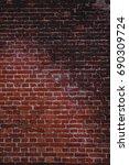 Natural Red Bricks Wall