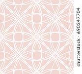 art deco seamless background. | Shutterstock .eps vector #690347704
