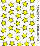 star template based on random... | Shutterstock . vector #690369880