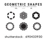 Geometric Shapes Set. Universa...