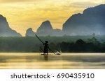 nong thale  krabi  thailand  ...   Shutterstock . vector #690435910