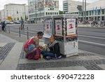 berlin  germany  may 21  2015 ...   Shutterstock . vector #690472228