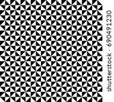 vector seamless pattern.... | Shutterstock .eps vector #690491230