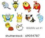 nursery illustration   fun... | Shutterstock .eps vector #69054787