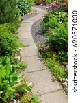 A Winding Path In The Garden...