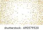 confetti isolated on white... | Shutterstock .eps vector #690579520