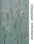 texture of old wood with worn... | Shutterstock . vector #690593023