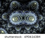 Fractal Generated By A Compute...