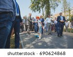 august 5 2017 vinnytsia ukraine.... | Shutterstock . vector #690624868